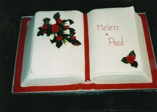 open book cake - HD1600×1143