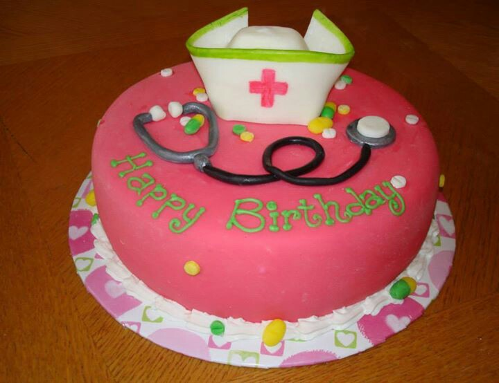 Nurse Birthday Cakes