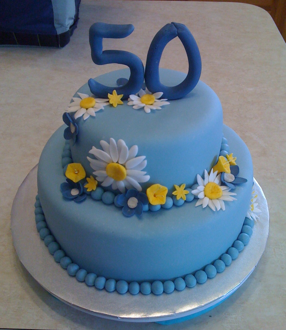 50th Birthday Cakes Pictures Of For 50 Year Old