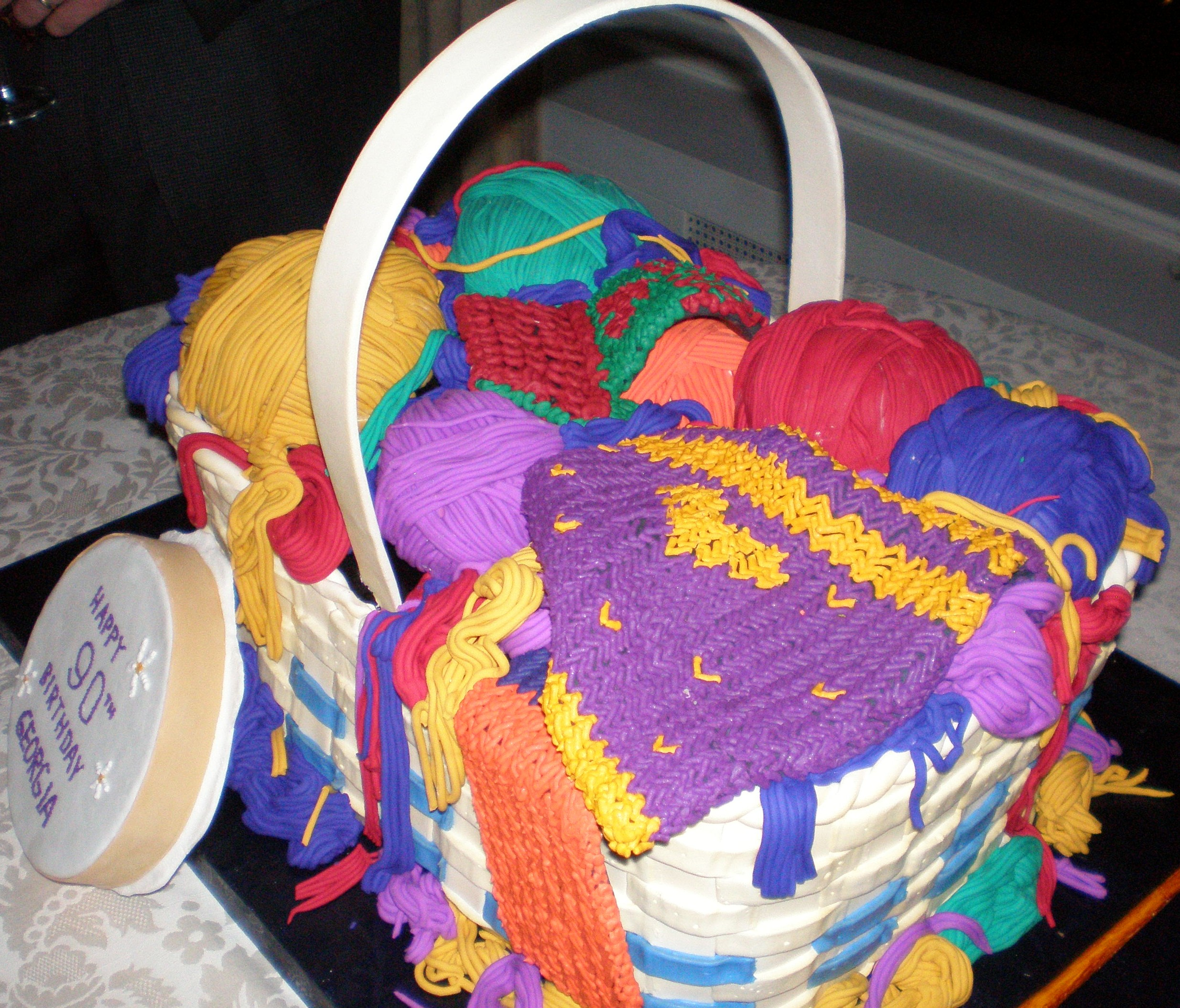 Cake Full Of Yarn