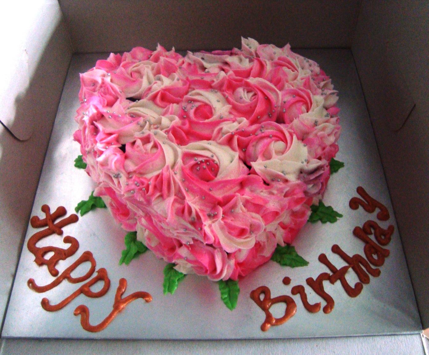 Rose Birthday Cakes