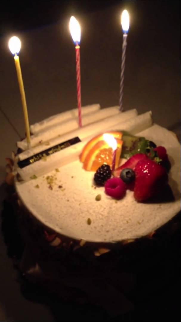Korean Birthday Cake - Ice Cream Cup Cakes