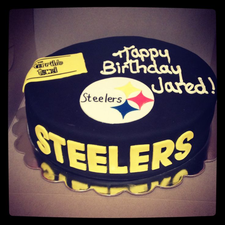 Steelers Birthday Cakes