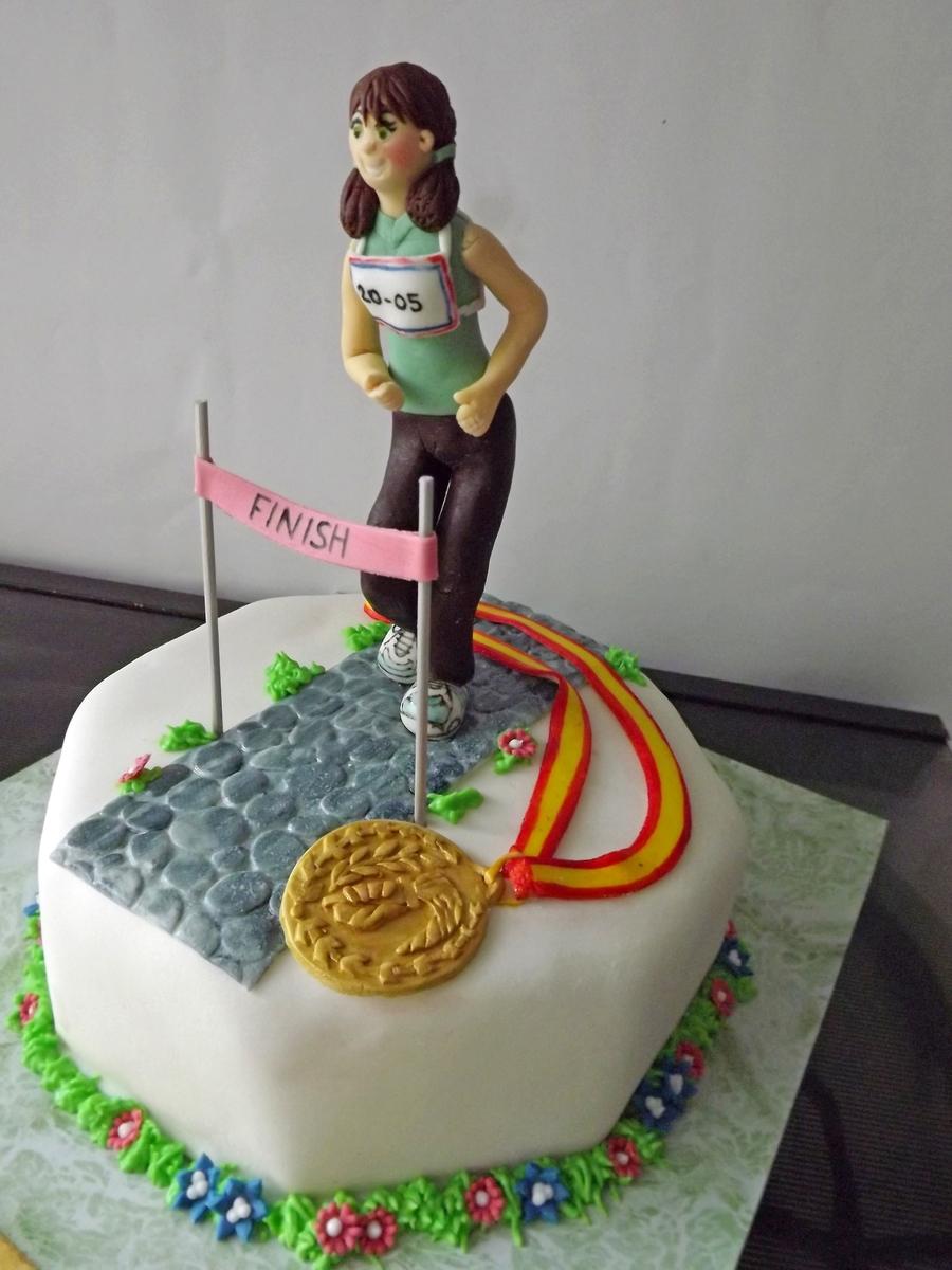 Runner Birthday Cakes