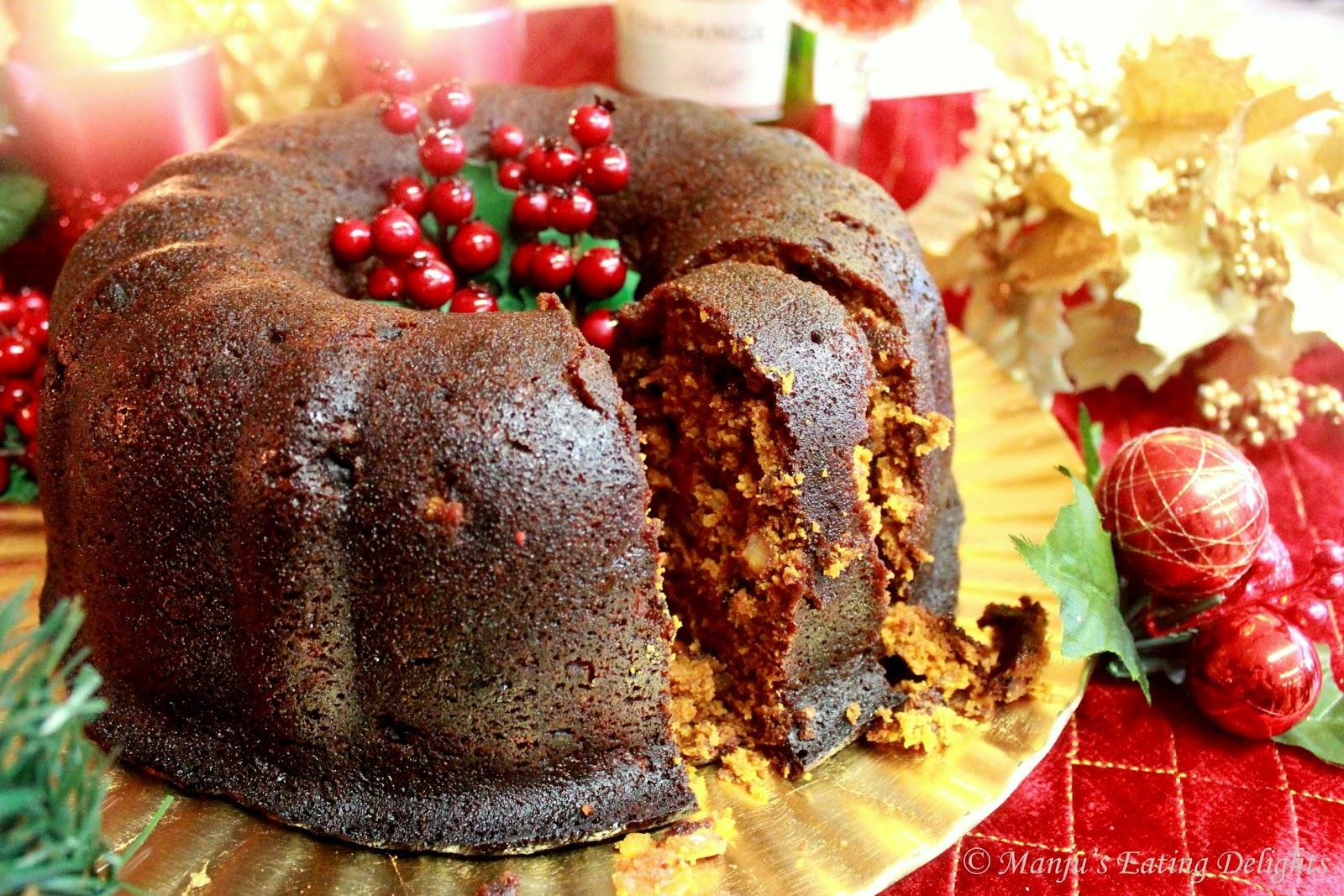 Rum Christmas Cakes