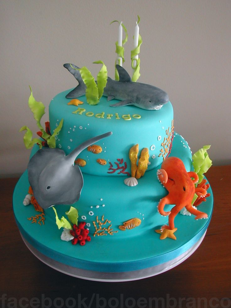 Sea Birthday Cakes