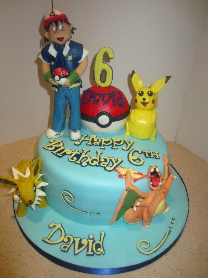pokemon birthday cakes. Black Bedroom Furniture Sets. Home Design Ideas