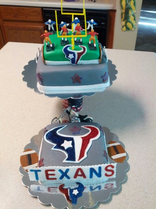Texans Birthday Cakes