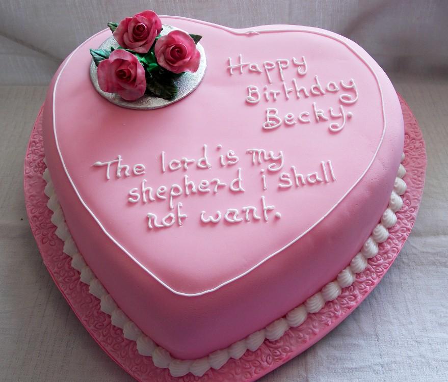 H Birthday Cakes