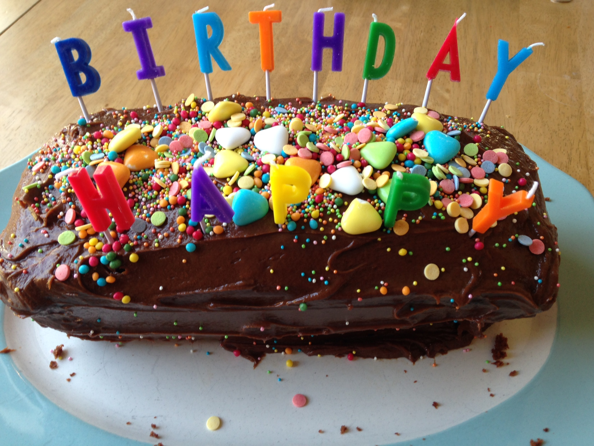 Chocalate Birthday Cakes