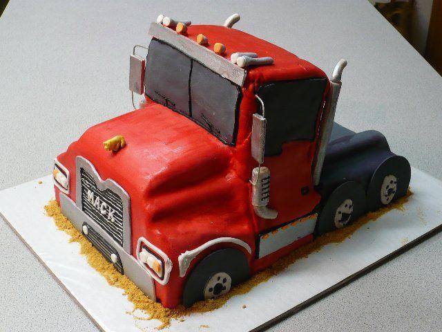 Lorry Birthday Cakes