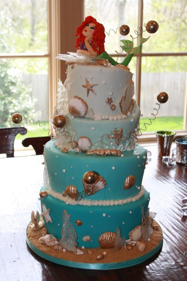 Mermaid Wedding Cakes