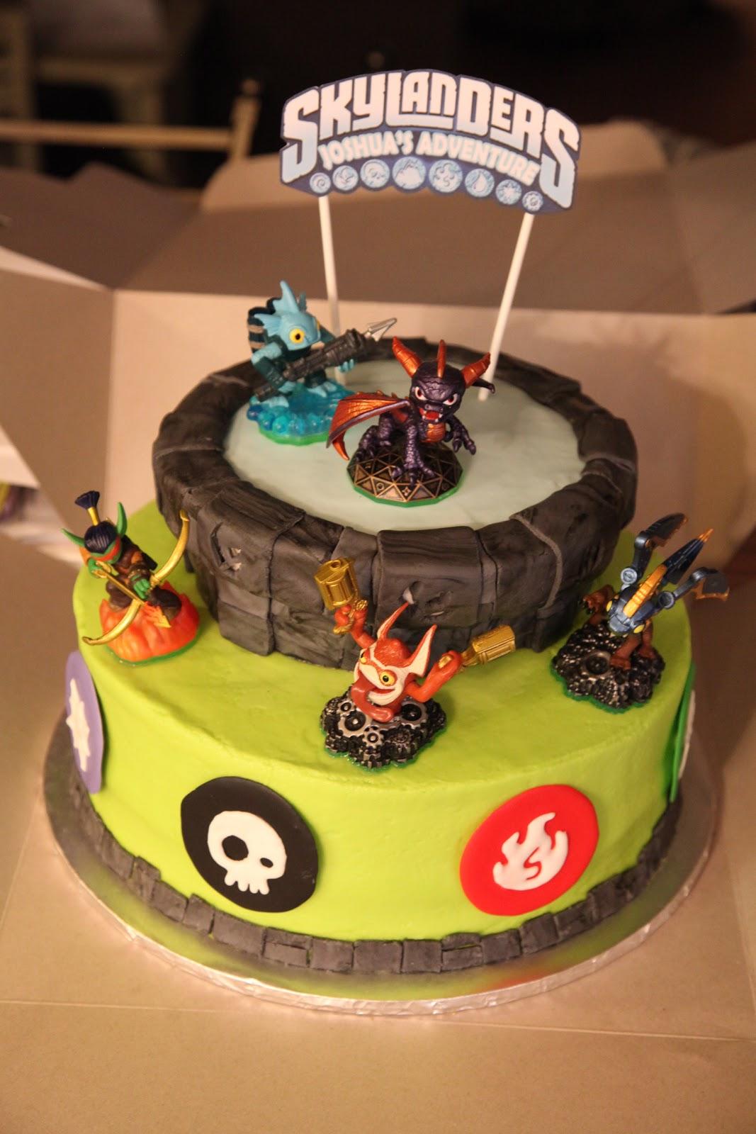 Skylander Birthday Cakes