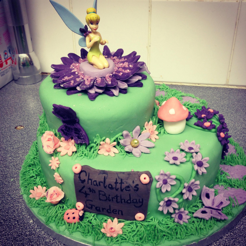 Modern Garden Party Cake Ideas Pattern - Beautiful Garden ...