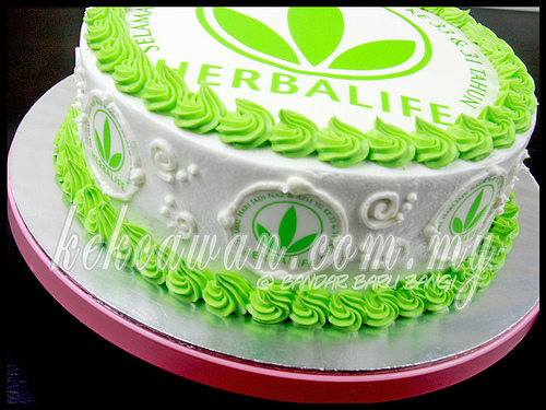 Sponge Cake For Herbalife Team Customer Naz Azie
