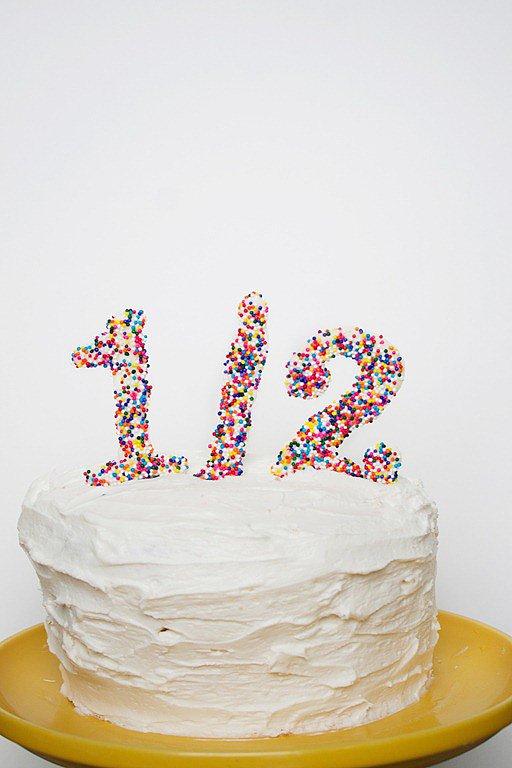 Half Birthday Cakes