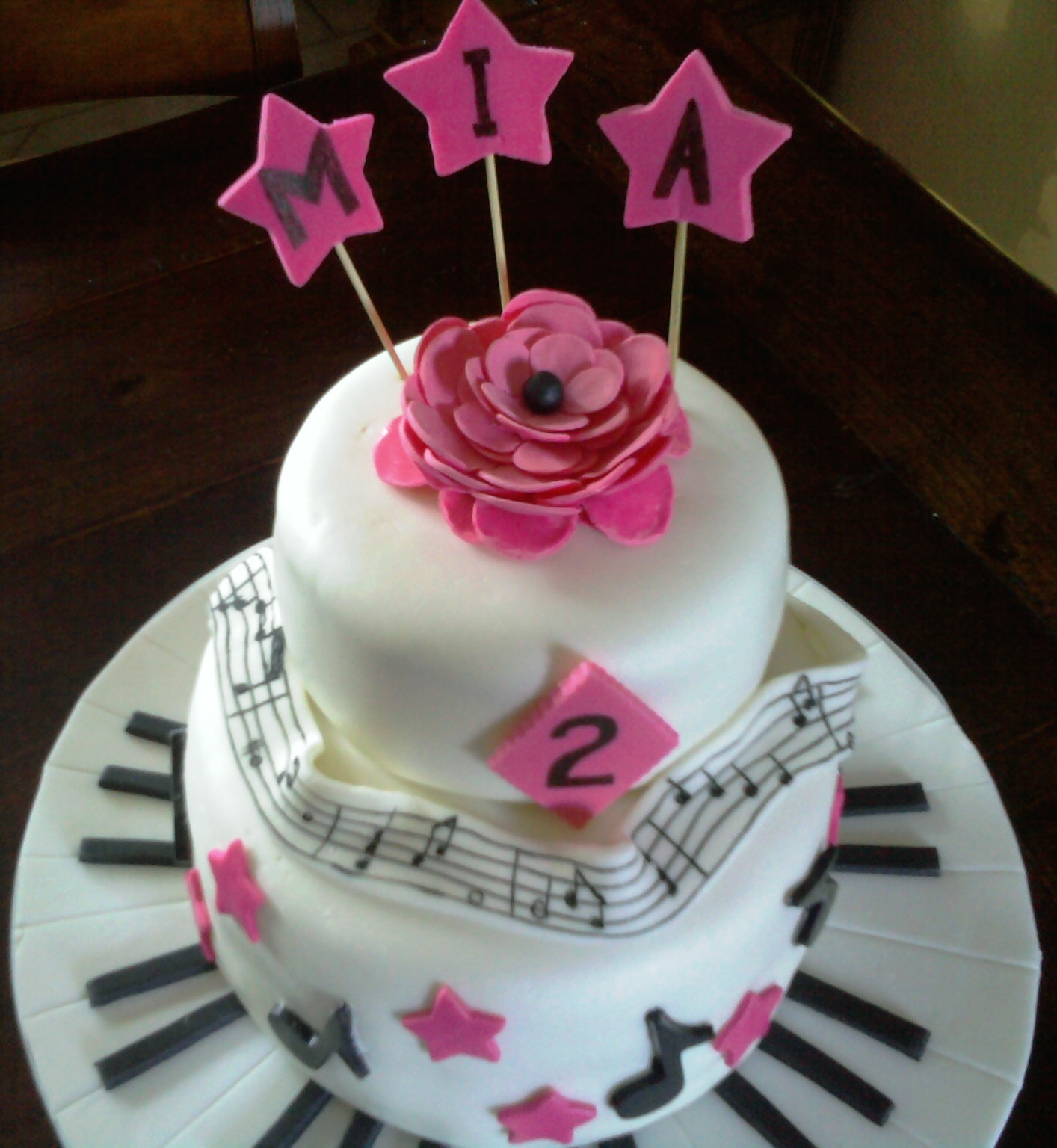 AimeeJo Desserts Mias 2 Year Old Birthday Cake