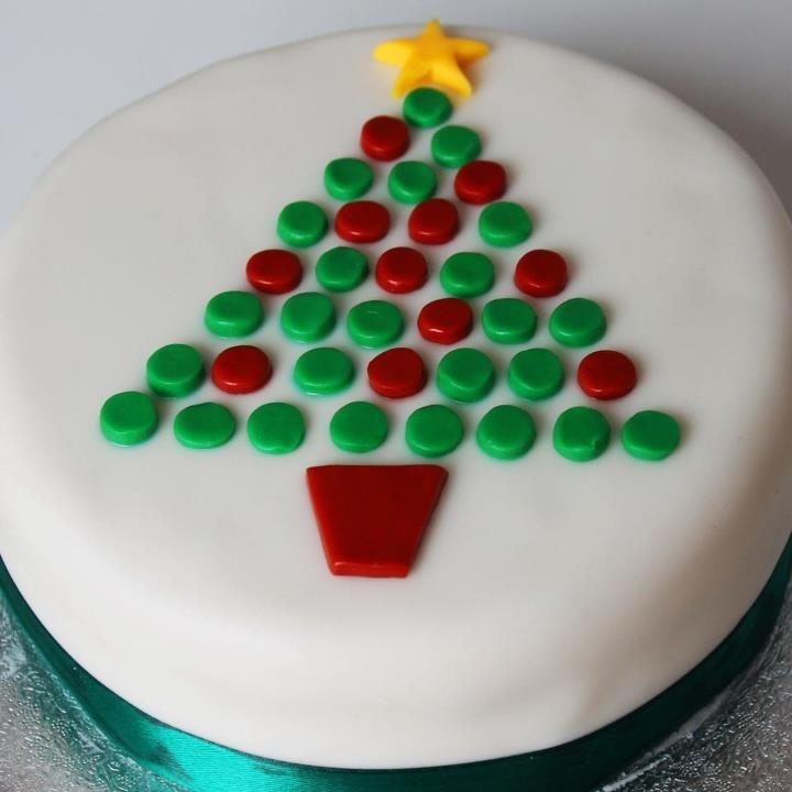 easy christmas cakes