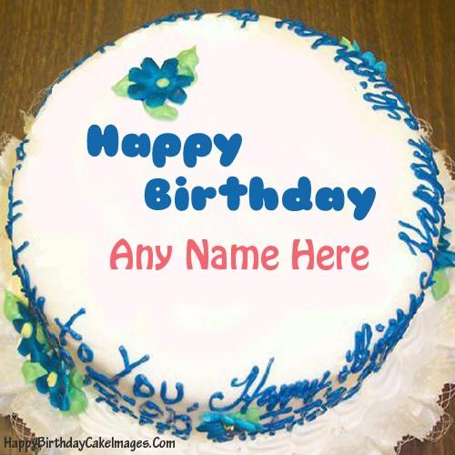 99 Happy Birthday Chocolate Cake With Name Editor