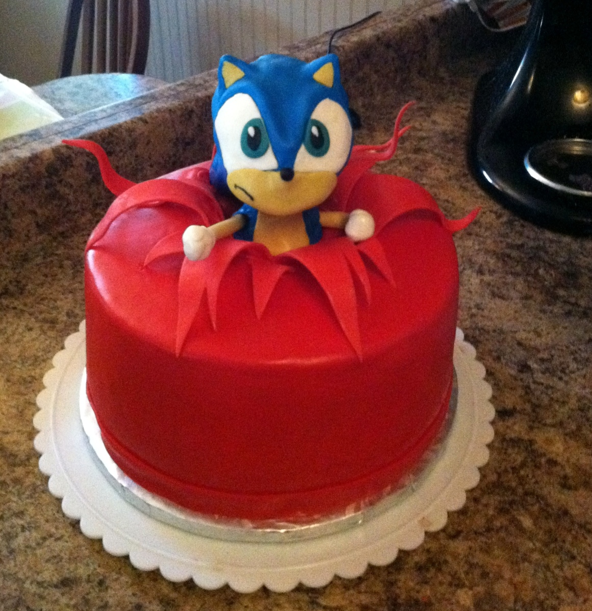 Sonic Birthday Cakes Uk