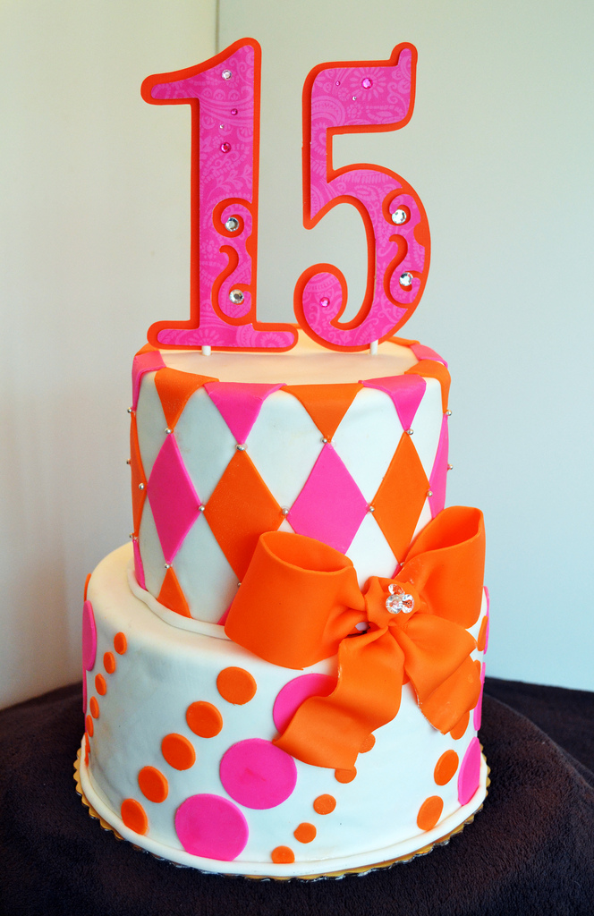 15th Birthday Cake Images Happy