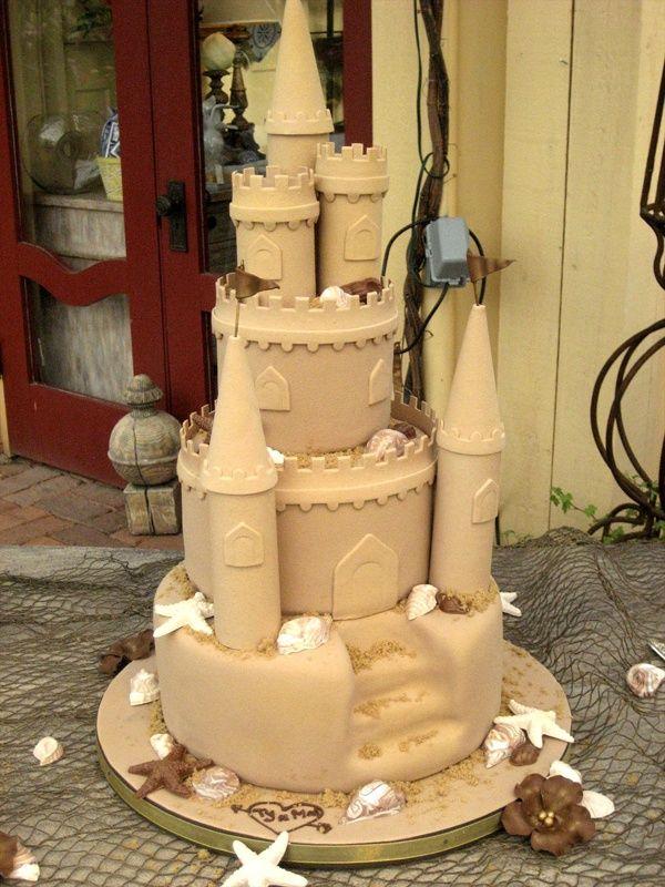 Sandcastle Wedding Cakes