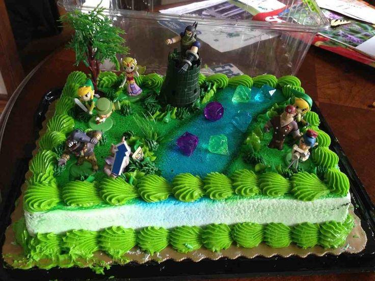 Zelda Cake Topper Party Decor Birthday Decorations