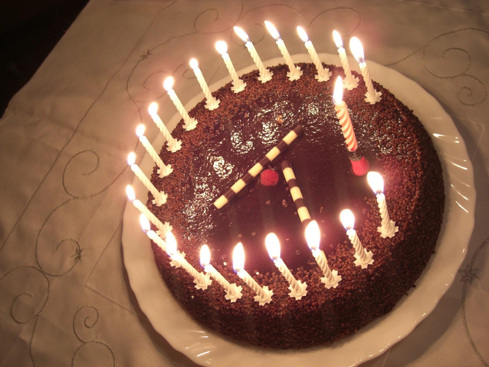 Candles Birthday Cakes