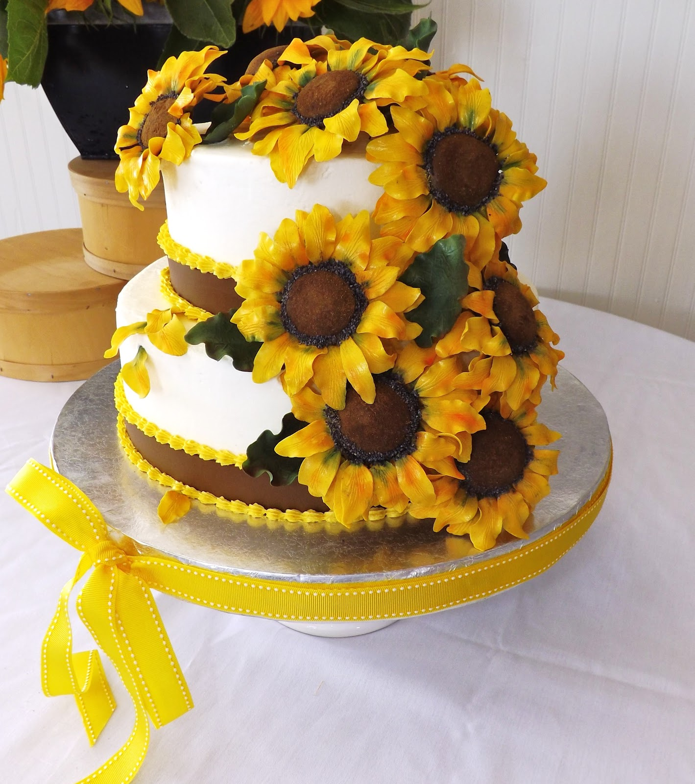 Sunflower Birthday Cakes