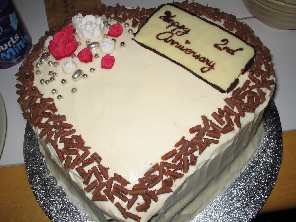Second Anniversary Cakes