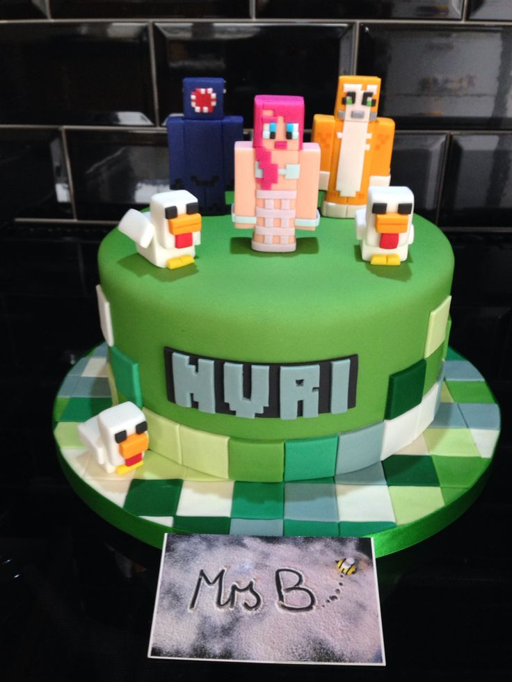 Minecraft Cake Ideas For Girls Wiki Cakes