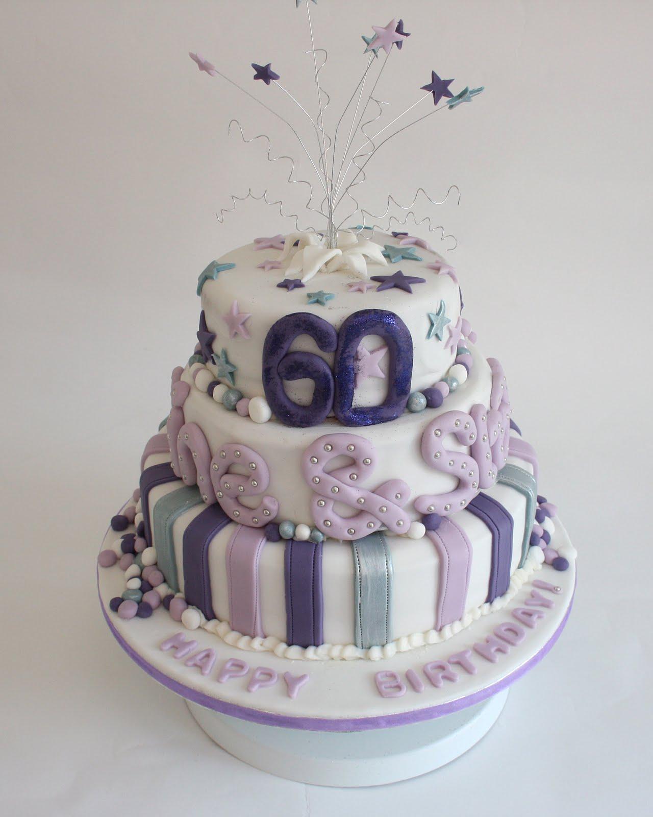 Sixtieth Birthday Cakes