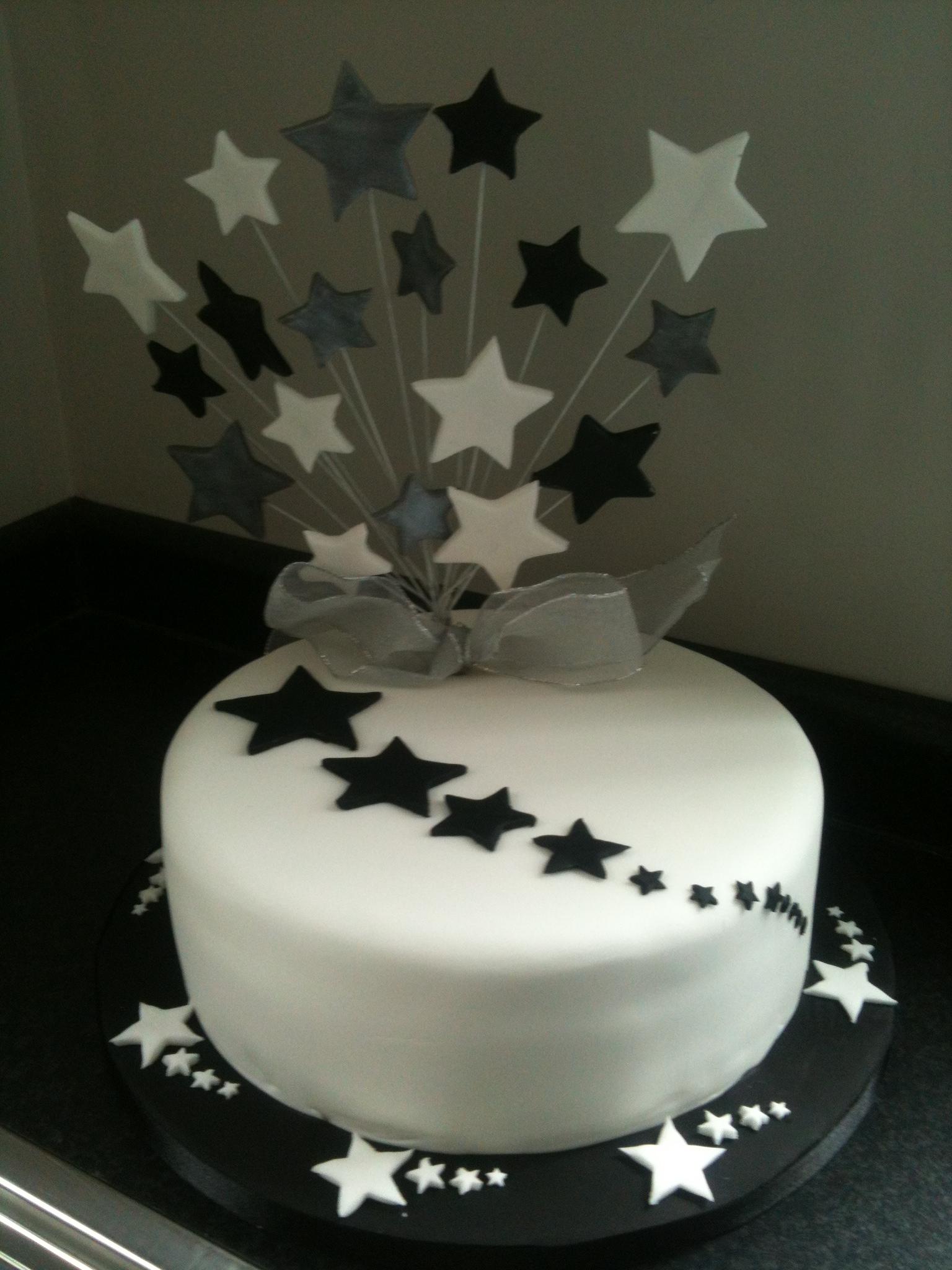 Stars Birthday Cakes