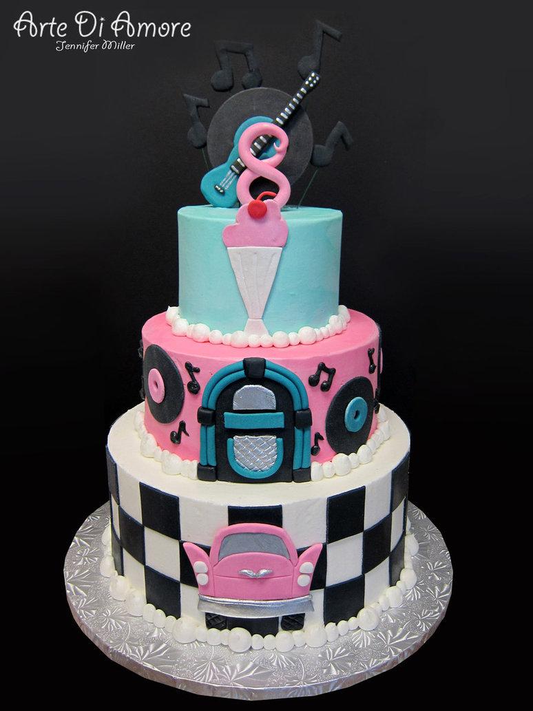 50S Birthday Cakes