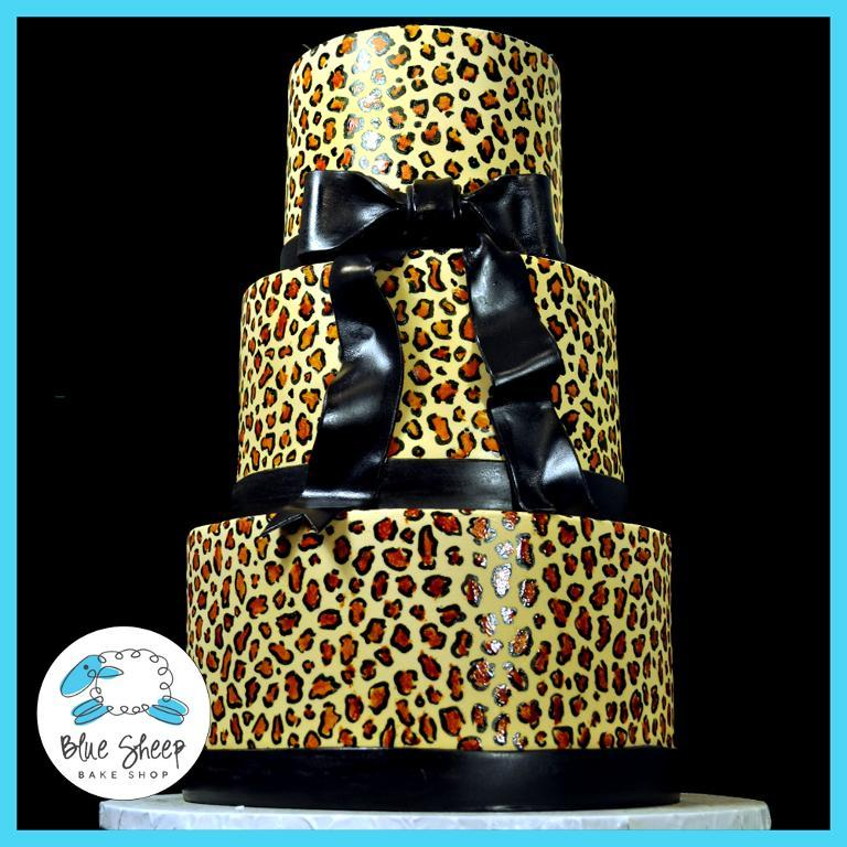 Leopard Birthday Cakes