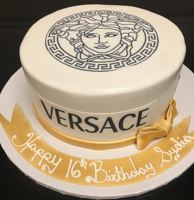 Versace Birthday Cakes