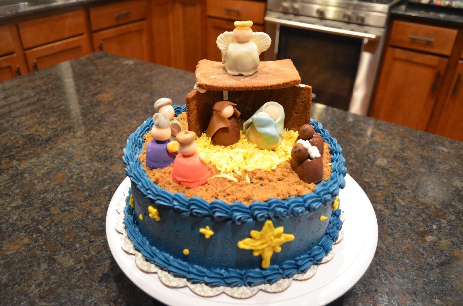 Jesus Birthday Cakes