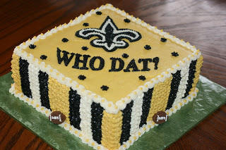 Carlys Cakes Who Dat New Orleans Saints