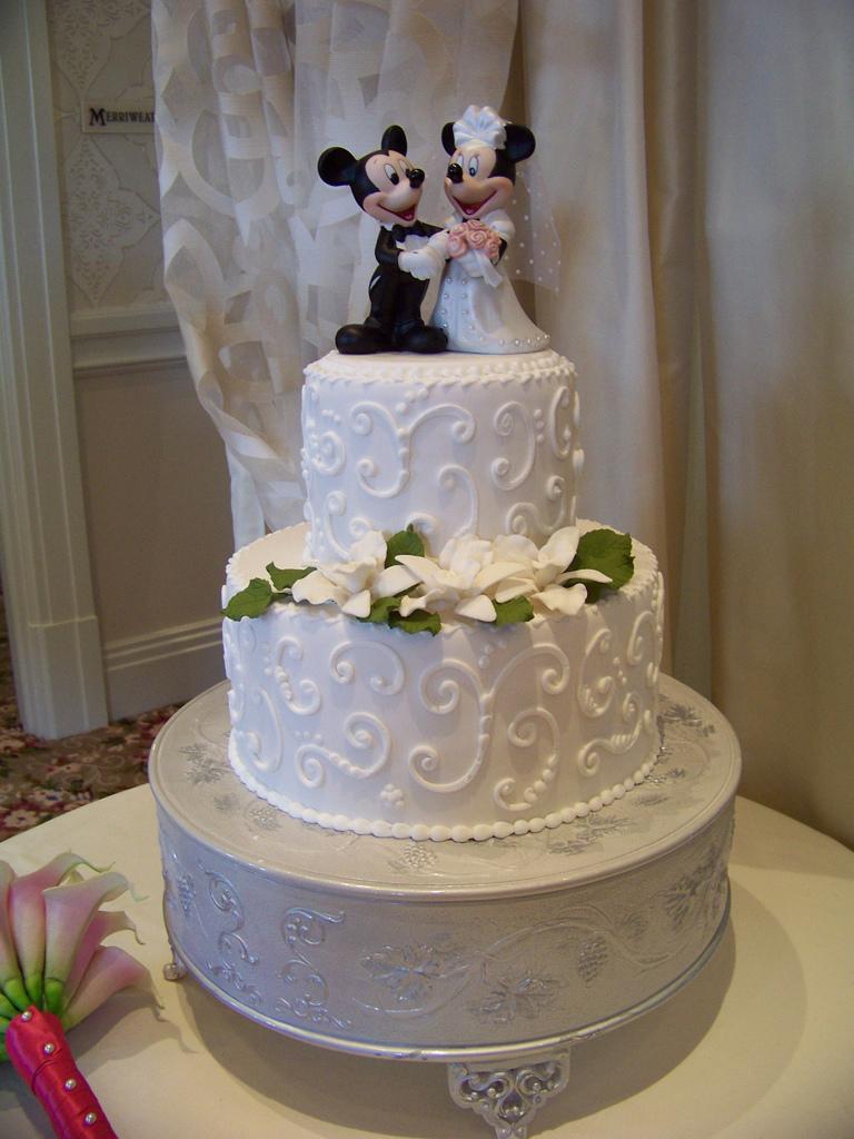 Mickey Wedding Cakes