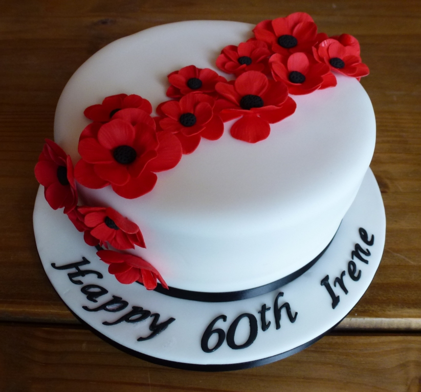 60th Birthday Cake Ideas Flowers Healthy Flower