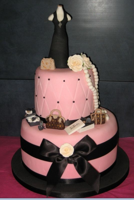 Fashion Birthday Cakes