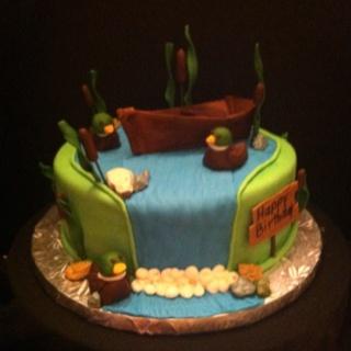 Outdoor Birthday Cakes