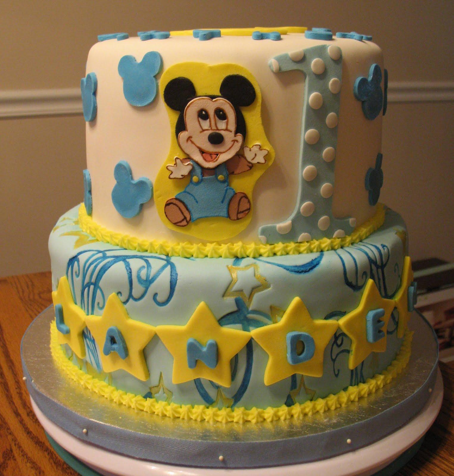 Babies Birthday Cakes