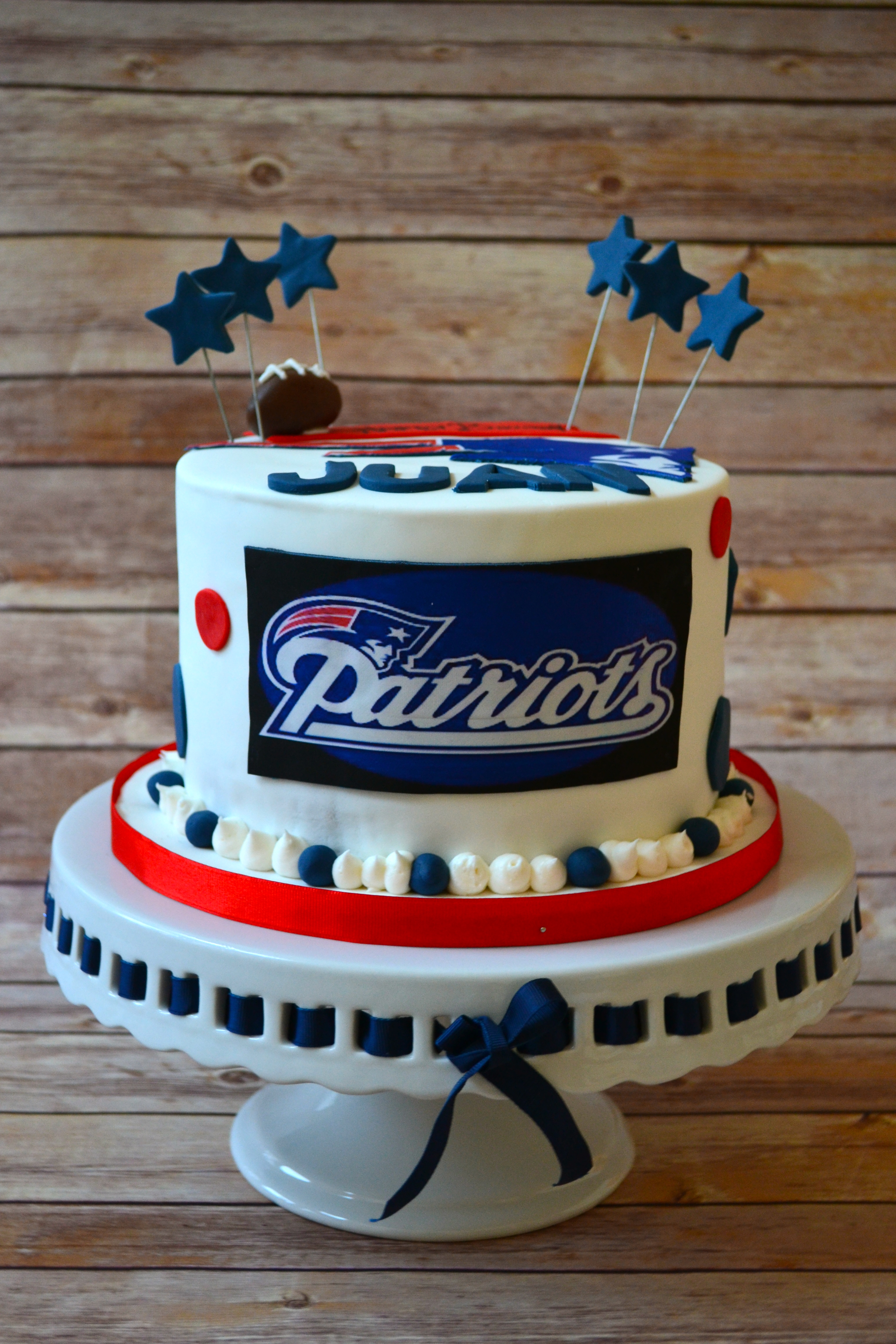 Patriots Birthday Cakes