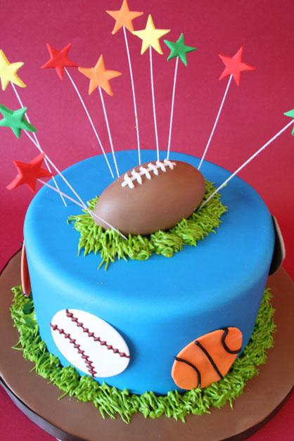 Mod Cakery Boy Birthday Cakes Sports B S