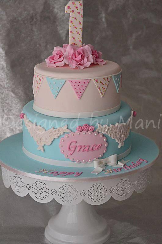 Antique Birthday Cakes