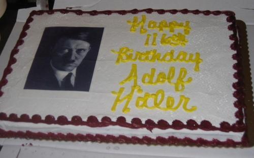 Image result for Hitler birthday cake