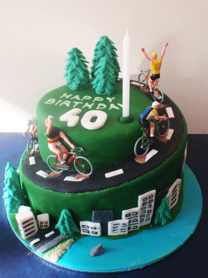 Cycling Birthday Cakes