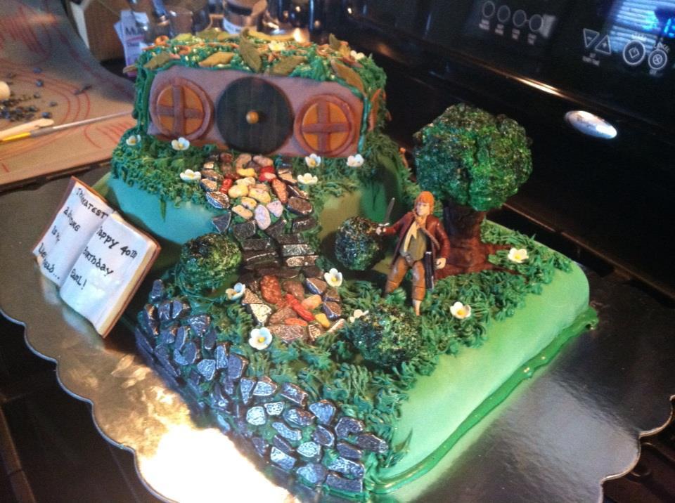Hobbit Birthday Cakes