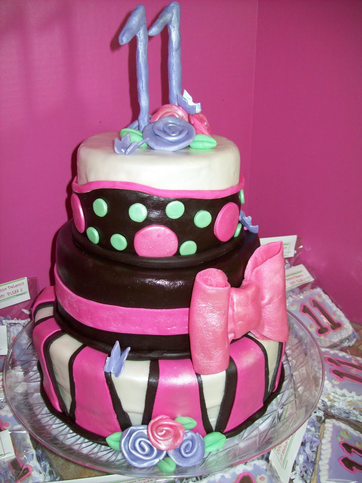CedarGap Creations Cookies Briannas 11th Birthday P Y